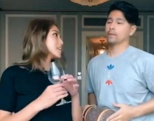 Jessica Iskandar dan Erick Bana.
