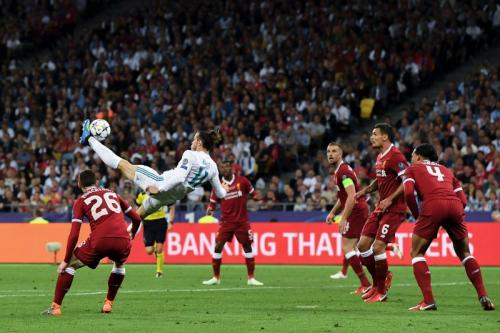 Momen Madrid vs Liverpool di final Liga Champions 2017-2018