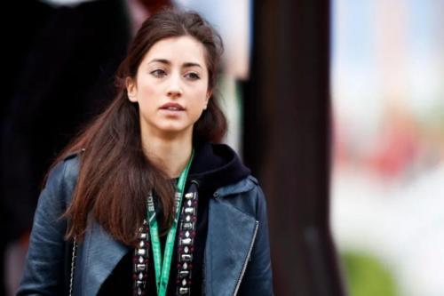 Dilara Sanlik sering terlihat di garasi Red Bull Racing (Foto: The Sun)