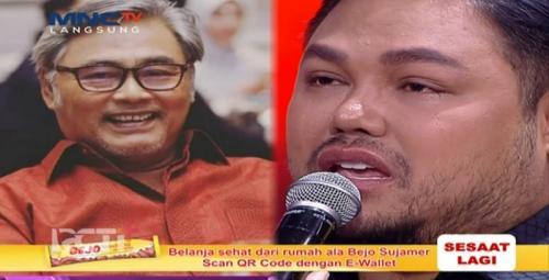 Ivan Gunawan kenang ayah. (Foto: MNCTV)