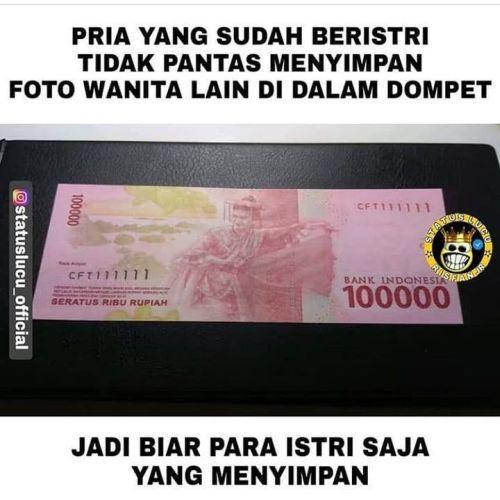 meme uang