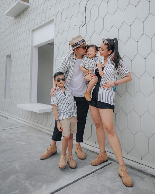 Ryan Delon dan keluarga