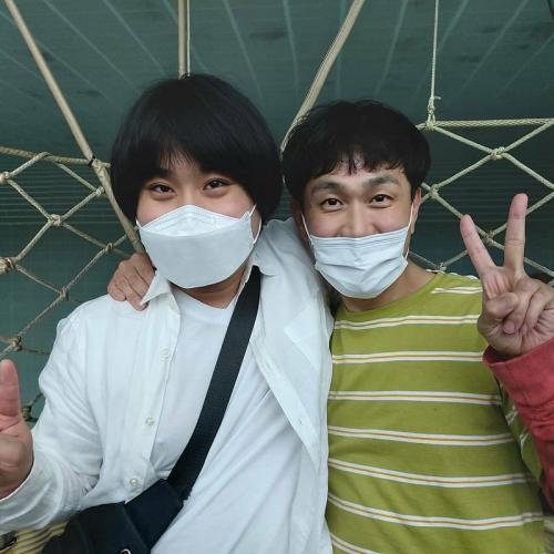 Oh Jung Se dan penggemarnya pengidap autis. (Foto: Instagram/@hpccp_icw)