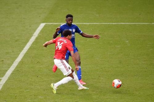 Jesse Lingard cetak satu gol ke gawang Leicester City (Foto: Man United)