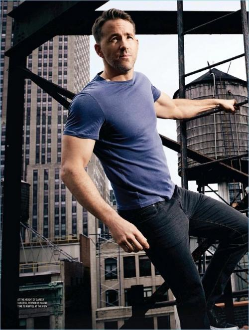 Ryan Reynolds. (Foto: Men's Health)