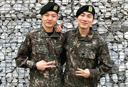 Changsub dan Eunkwang BTOB