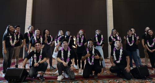 MNCTV memperkenalkan 20 kontestan KDI 2020. (Foto: Okezone/Pernita Hestin Untari)