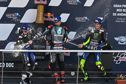 Quartararo, Vinales, dan Rossi di MotoGP Andalusia 2020