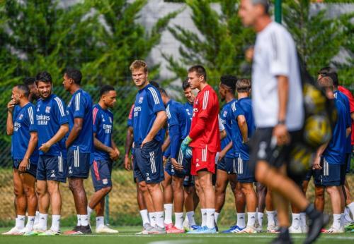 Skuad Olympique Lyon berlatih jelang hadapi PSG (Foto: OL)