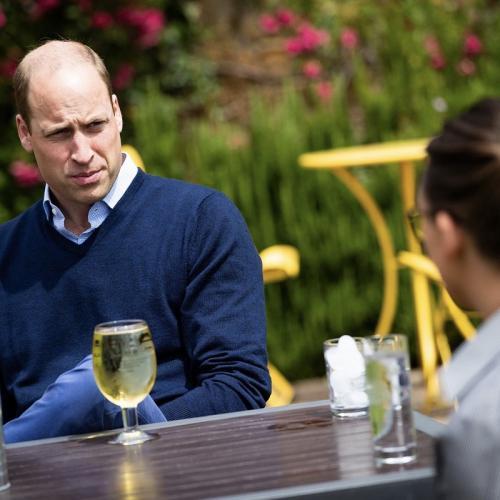 Pangeran William. (Foto: Twitter/KensingtonRoyal)