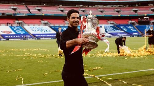 Mikel Arteta (Foto: Twitter/@Arsenal)