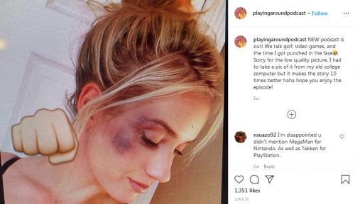 Paige Spiranac (Foto: Instagram/@playingaroundpodcast)