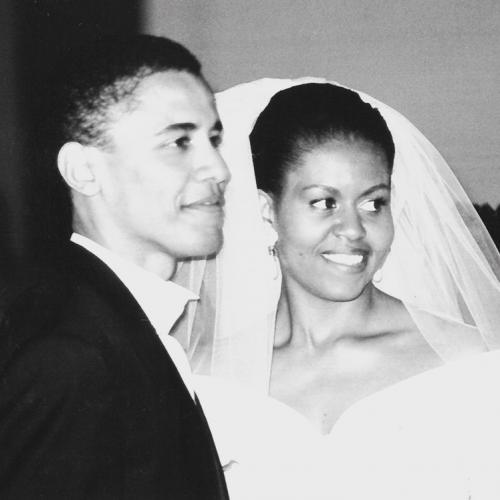 Barack dan Michelle Obama. (Foto: Instagram/@michelleobama)