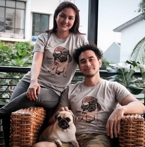Darius Sinathrya dan Donna Agnesia