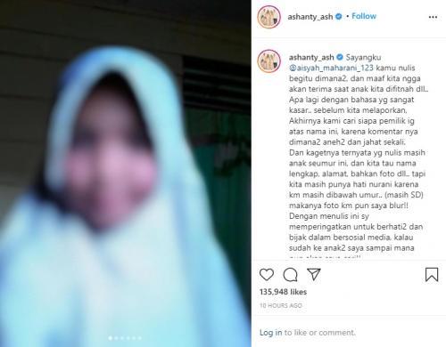 Ashanty. (Foto: Instagram)