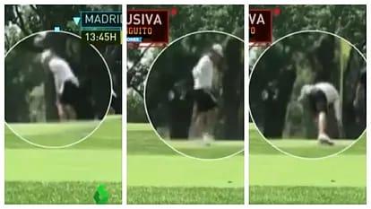 Gareth Bale ketahuan main golf saat Madrid bersiap hadapi Man City