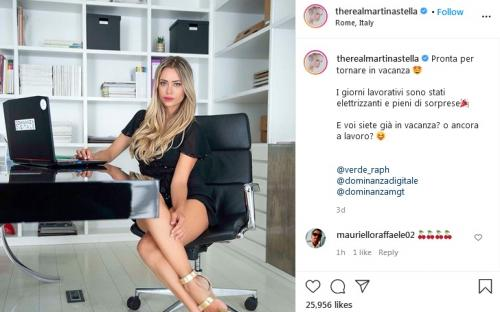 Mantan Rossi, Martina Stella
