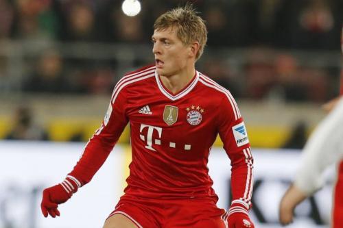 Toni Kroos saat masih main di Bayern Munich