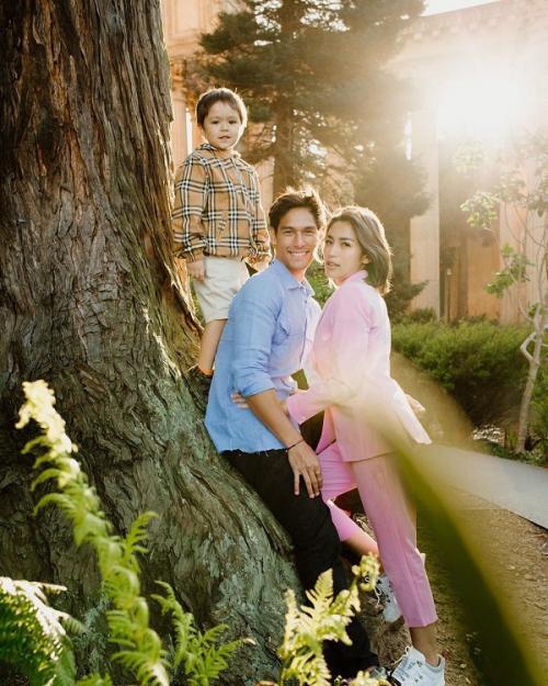 Jessica Iskandar, Richard Kyle, dan El Barack. (Foto: Instagram/@inijedar)