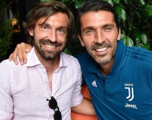 Pirlo dan Buffon