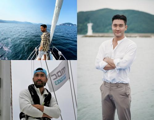 Choi Siwon dalam Yacht Expedition. (Foto: MBC Every1)