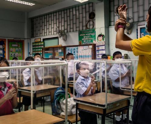 sekolah di tengah pandemi