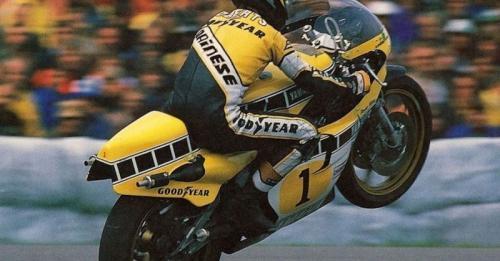 Kenny Roberts menyabet empat kemenangan (Foto: Cycle World)