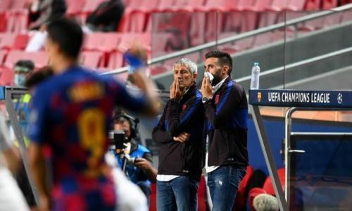 Quique Setien dipecat Barcelona usai dipermalukan Bayern Munich (Foto: UEFA)
