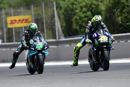 Valentino Rossi dan Fabio Morbidelli