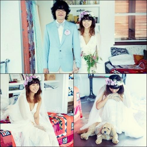 Lee Hyori dan suami.