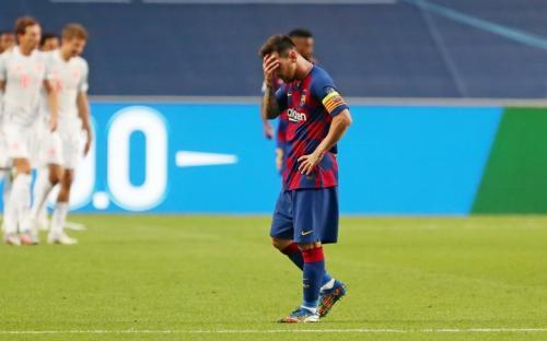 Barcelona dihajar Bayern Munich 2-8 (Foto: Barcelona)