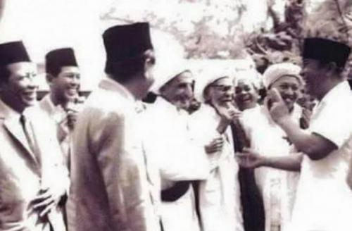 Habib Ali Al-Habsyi dan Presiden Soekarno