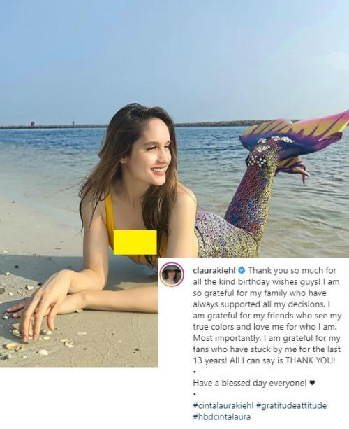 Cinta Laura. (Foto: Instagram/@claurakiehl)