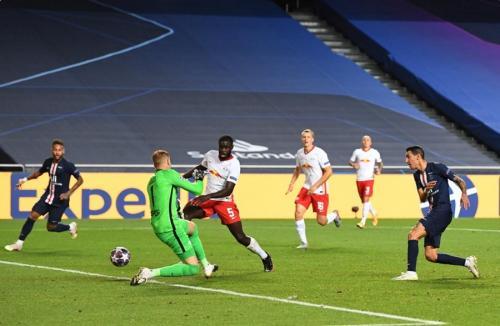 Angel di Maria berperan penting untuk PSG (Foto: UEFA)