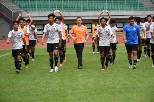 Mochamad Iriawan dan Timnas Indonesia U-16