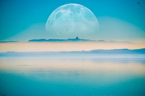 Ilustrasi bulan baru. (Foto: Freepik)