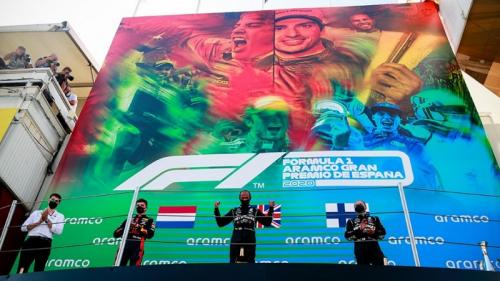 Podium F1 GP Spanyol 2020
