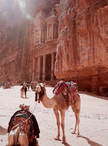 Kota Petra di Yordania. (Foto: Freepik)