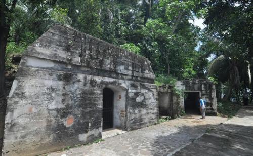Benteng peninggalan Jepang
