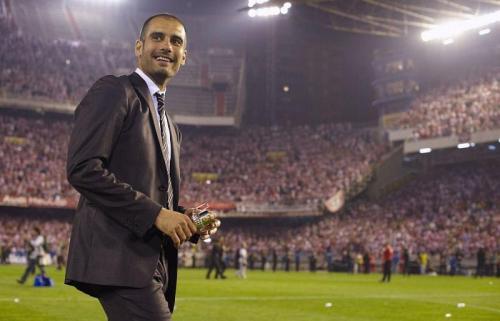 Josep Guardiola saat masih di Barcelona