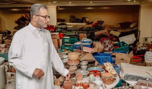 Museum pribadi Hatem Iraq di Kota Makkah, Arab Saudi. (Foto: Huda Bashatah/Arab News)
