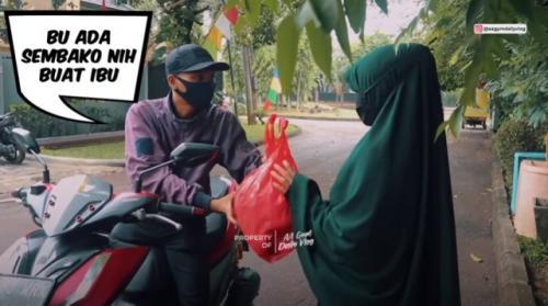 Hukum prank dalam Islam. (Foto: Youtube Aa Gym Daily Vlog)