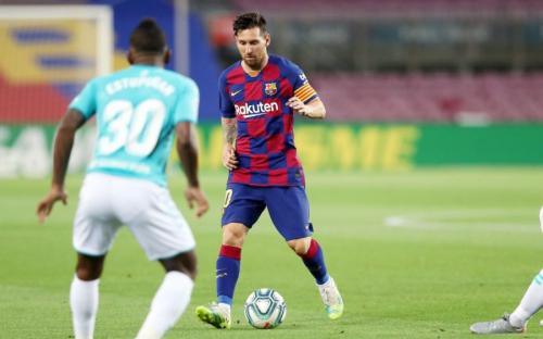 Lionel Messi (Foto: Laman resmi Barcelona)