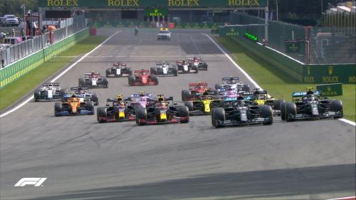 F1 GP Belgia 2020 (Foto: Twitter/@F1)
