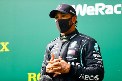 Lewis Hamilton (Foto: Twitter/@MercedesAMGF1)