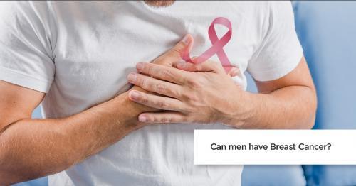 Kanker payudara didominasi oleh kaum Hawa, tapi ada sebagian kecil pria yang juga mengalami masalah kesehatan yang satu ini.
