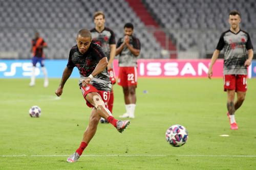 Thiago Alcantara diminati dua klub (Foto: Twitter/@FCBayernEN)