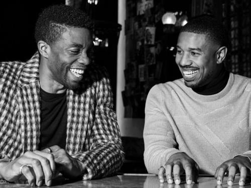 Chadwick dan Michael B. Jordan. (Foto: IG)
