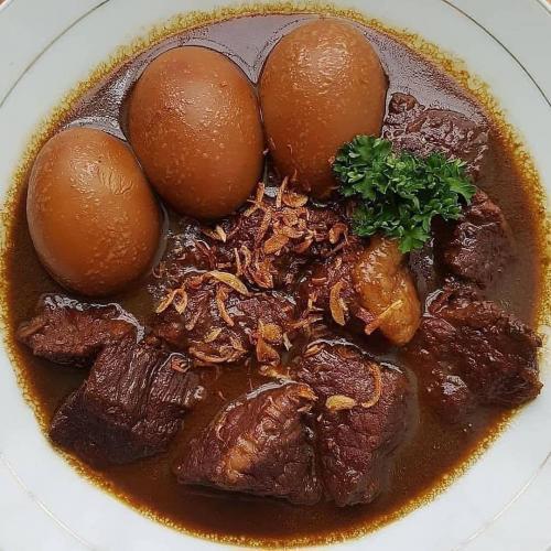 Daging Telur Kecap