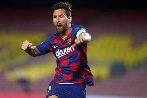 Lionel Messi frustrasi di Barcelona (Foto: Barcelona)